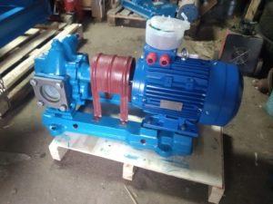 Насосный агрегат Ш 40-4 на литой плите